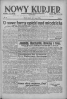 Nowy Kurjer: dziennik poświęcony sprawom politycznym i społecznym 1938.03.01 R.49 Nr48