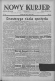 Nowy Kurjer: dziennik poświęcony sprawom politycznym i społecznym 1938.03.02 R.49 Nr49