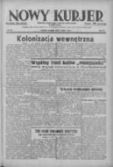 Nowy Kurjer: dziennik poświęcony sprawom politycznym i społecznym 1938.03.03 R.49 Nr50