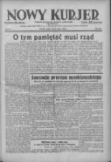 Nowy Kurjer: dziennik poświęcony sprawom politycznym i społecznym 1938.03.04 R.49 Nr51