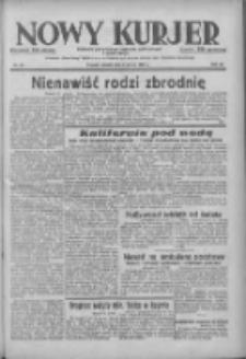 Nowy Kurjer: dziennik poświęcony sprawom politycznym i społecznym 1938.03.05 R.49 Nr52