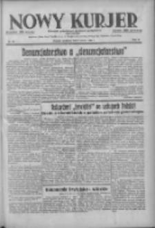 Nowy Kurjer: dziennik poświęcony sprawom politycznym i społecznym 1938.03.06 R.49 Nr53