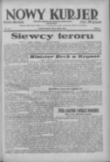 Nowy Kurjer: dziennik poświęcony sprawom politycznym i społecznym 1938.03.08 R.49 Nr54