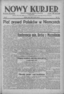 Nowy Kurjer: dziennik poświęcony sprawom politycznym i społecznym 1938.03.09 R.49 Nr55