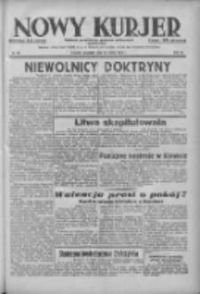 Nowy Kurjer: dziennik poświęcony sprawom politycznym i społecznym 1938.03.17 R.49 Nr62