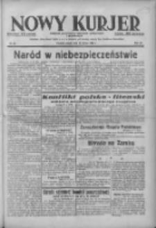 Nowy Kurjer: dziennik poświęcony sprawom politycznym i społecznym 1938.03.18 R.49 Nr63