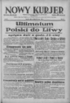 Nowy Kurjer: dziennik poświęcony sprawom politycznym i społecznym 1938.03.19 R.49 Nr64