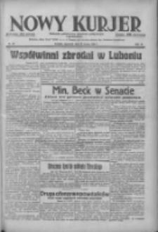 Nowy Kurjer: dziennik poświęcony sprawom politycznym i społecznym 1938.03.24 R.49 Nr68