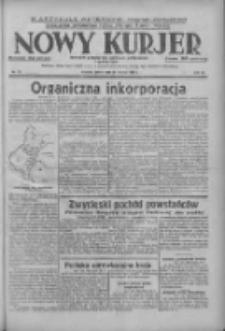 Nowy Kurjer: dziennik poświęcony sprawom politycznym i społecznym 1938.03.30 R.49 Nr73
