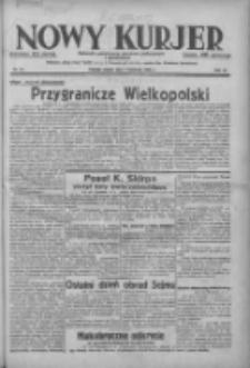 Nowy Kurjer: dziennik poświęcony sprawom politycznym i społecznym 1938.04.01 R.49 Nr75