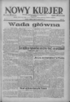 Nowy Kurjer: dziennik poświęcony sprawom politycznym i społecznym 1938.04.03 R.49 Nr77