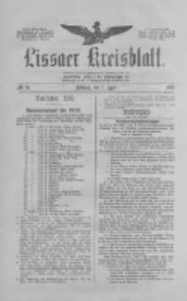 Lissaer Kreisblatt.1913.04.02 Nr26