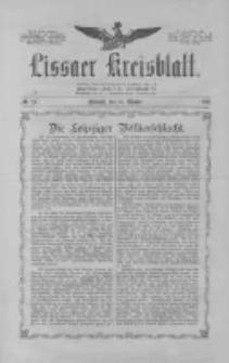 Lissaer Kreisblatt.1913.10.18 Nr83