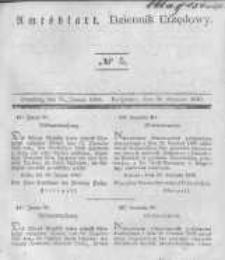 Amtsblatt der Königlichen Preussischen Regierung zu Bromberg. 1840.01.31 No.5