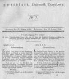 Amtsblatt der Königlichen Preussischen Regierung zu Bromberg. 1840.02.14 No.7