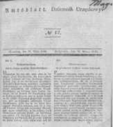 Amtsblatt der Königlichen Preussischen Regierung zu Bromberg. 1840.03.20 No.12