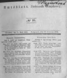 Amtsblatt der Königlichen Preussischen Regierung zu Bromberg. 1840.04.17 No.16