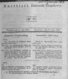 Amtsblatt der Königlichen Preussischen Regierung zu Bromberg. 1840.07.10 No.28