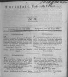 Amtsblatt der Königlichen Preussischen Regierung zu Bromberg. 1840.07.31 No.31
