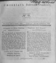 Amtsblatt der Königlichen Preussischen Regierung zu Bromberg. 1840.10.09 No.41