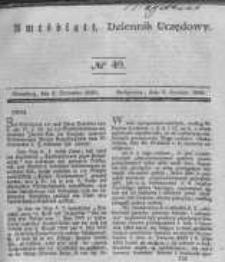 Amtsblatt der Königlichen Preussischen Regierung zu Bromberg. 1840.12.04 No.49