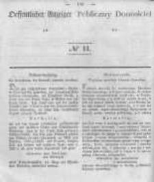 Oeffentlicher Anzeiger zum Amtsblatt No.11 der Königl. Preuss. Regierung zu Bromberg. 1840