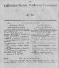 Oeffentlicher Anzeiger zum Amtsblatt No.41 der Königl. Preuss. Regierung zu Bromberg. 1840