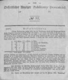 Oeffentlicher Anzeiger zum Amtsblatt No.52 der Königl. Preuss. Regierung zu Bromberg. 1840