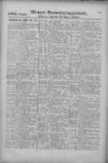 Armee-Verordnungsblatt. Verlustlisten 1917.08.29 Ausgabe 1600