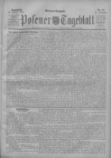 Posener Tageblatt 1904.02.20 Jg.43 Nr85