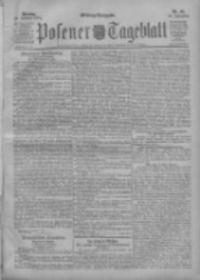 Posener Tageblatt 1904.02.22 Jg.43 Nr88