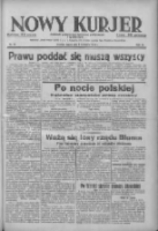 Nowy Kurjer: dziennik poświęcony sprawom politycznym i społecznym 1938.04.06 R.49 Nr79