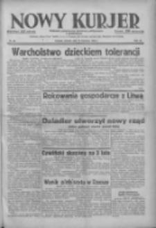 Nowy Kurjer: dziennik poświęcony sprawom politycznym i społecznym 1938.04.12 R.49 Nr84