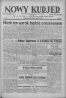 Nowy Kurjer: dziennik poświęcony sprawom politycznym i społecznym 1938.04.14 R.49 Nr86