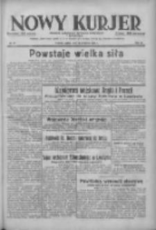 Nowy Kurjer: dziennik poświęcony sprawom politycznym i społecznym 1938.04.15 R.49 Nr87
