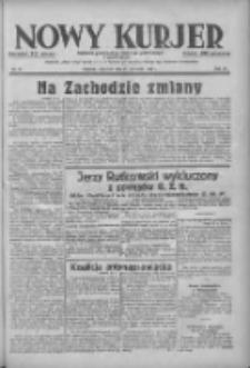 Nowy Kurjer: dziennik poświęcony sprawom politycznym i społecznym 1938.04.21 R.49 Nr91