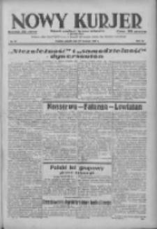 Nowy Kurjer: dziennik poświęcony sprawom politycznym i społecznym 1938.04.23 R.49 Nr93