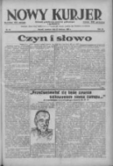 Nowy Kurjer: dziennik poświęcony sprawom politycznym i społecznym 1938.04.28 R.49 Nr97