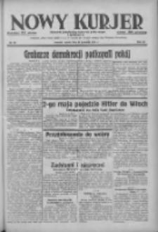 Nowy Kurjer: dziennik poświęcony sprawom politycznym i społecznym 1938.04.30 R.49 Nr99