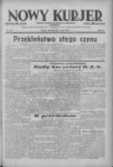 Nowy Kurjer: dziennik poświęcony sprawom politycznym i społecznym 1938.05.01 R.49 Nr100