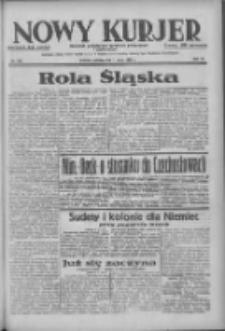 Nowy Kurjer: dziennik poświęcony sprawom politycznym i społecznym 1938.05.07 R.49 Nr104