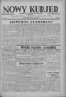 Nowy Kurjer: dziennik poświęcony sprawom politycznym i społecznym 1938.05.11 R.49 Nr107