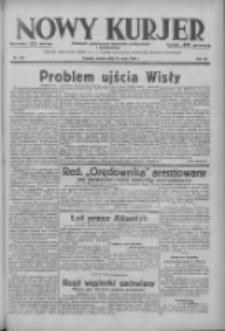 Nowy Kurjer: dziennik poświęcony sprawom politycznym i społecznym 1938.05.14 R.49 Nr110