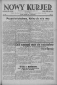 Nowy Kurjer: dziennik poświęcony sprawom politycznym i społecznym 1938.05.15 R.49 Nr111
