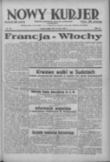 Nowy Kurjer: dziennik poświęcony sprawom politycznym i społecznym 1938.05.20 R.49 Nr115
