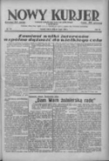 Nowy Kurjer: dziennik poświęcony sprawom politycznym i społecznym 1938.05.21 R.49 Nr116