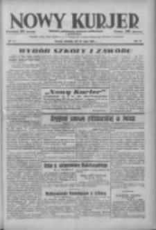 Nowy Kurjer: dziennik poświęcony sprawom politycznym i społecznym 1938.05.22 R.49 Nr117