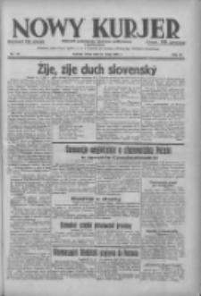 Nowy Kurjer: dziennik poświęcony sprawom politycznym i społecznym 1938.05.25 R.49 Nr119