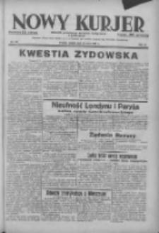 Nowy Kurjer: dziennik poświęcony sprawom politycznym i społecznym 1938.05.28 R.49 Nr121
