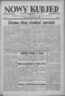 Nowy Kurjer: dziennik poświęcony sprawom politycznym i społecznym 1938.06.01 R.49 Nr124